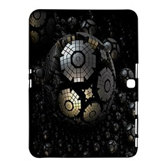 Fractal Sphere Steel 3d Structures Samsung Galaxy Tab 4 (10.1 ) Hardshell Case