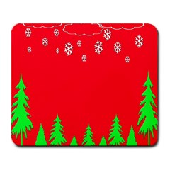 Merry Christmas Large Mousepads