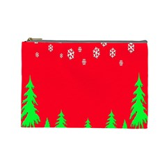 Merry Christmas Cosmetic Bag (Large)