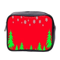 Merry Christmas Mini Toiletries Bag 2-Side
