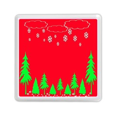 Merry Christmas Memory Card Reader (Square)