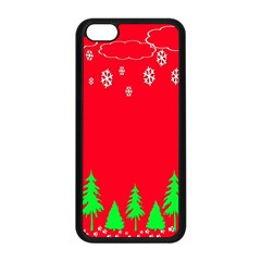 Merry Christmas Apple Iphone 5c Seamless Case (black)