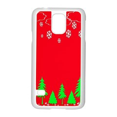 Merry Christmas Samsung Galaxy S5 Case (White)