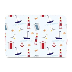 Seaside Beach Summer Wallpaper Plate Mats