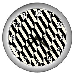 Hide And Seek Malika Wall Clocks (silver)