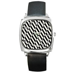 Hide And Seek Malika Square Metal Watch