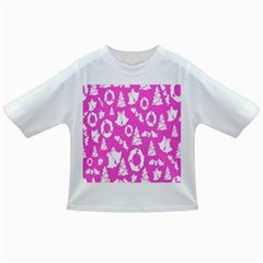 Pink Christmas Background Infant/Toddler T-Shirts