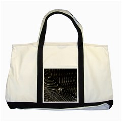 Fractal Mathematics Abstract Two Tone Tote Bag