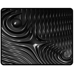 Fractal Mathematics Abstract Fleece Blanket (Medium)