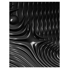 Fractal Mathematics Abstract Drawstring Bag (Large)