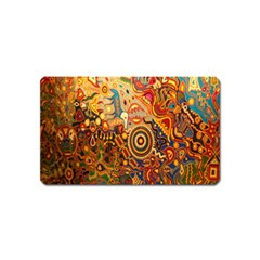 Ethnic Pattern Magnet (Name Card)