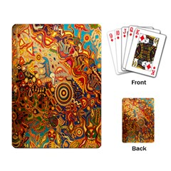 Ethnic Pattern Playing Card