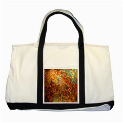 Ethnic Pattern Two Tone Tote Bag