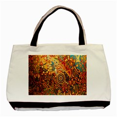 Ethnic Pattern Basic Tote Bag (Two Sides)