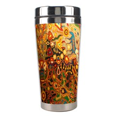 Ethnic Pattern Stainless Steel Travel Tumblers