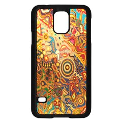 Ethnic Pattern Samsung Galaxy S5 Case (black)