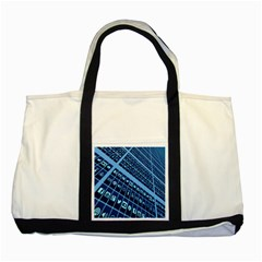 Mobile Phone Smartphone App Two Tone Tote Bag