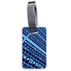 Mobile Phone Smartphone App Luggage Tags (Two Sides)