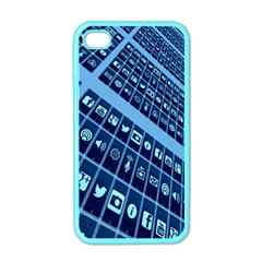 Mobile Phone Smartphone App Apple iPhone 4 Case (Color)