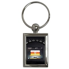 Interior Car Vehicle Auto Key Chains (Rectangle)