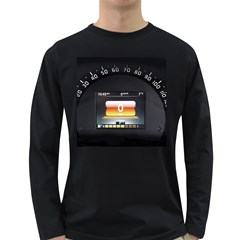 Interior Car Vehicle Auto Long Sleeve Dark T-Shirts