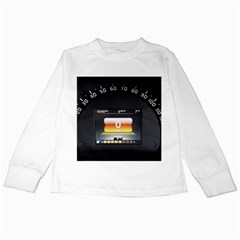 Interior Car Vehicle Auto Kids Long Sleeve T-Shirts