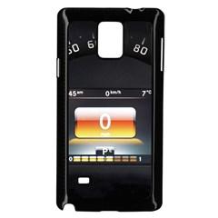Interior Car Vehicle Auto Samsung Galaxy Note 4 Case (Black)