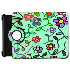 Flowers Floral Doodle Plants Kindle Fire Hd 7