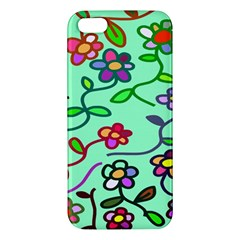 Flowers Floral Doodle Plants Apple iPhone 5 Premium Hardshell Case