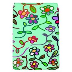 Flowers Floral Doodle Plants Flap Covers (S)