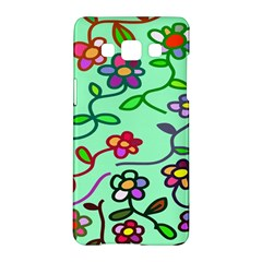 Flowers Floral Doodle Plants Samsung Galaxy A5 Hardshell Case