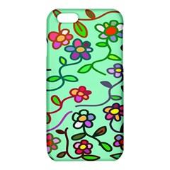 Flowers Floral Doodle Plants iPhone 6/6S TPU Case