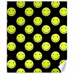 Happy Face Pattern Canvas 8  x 10