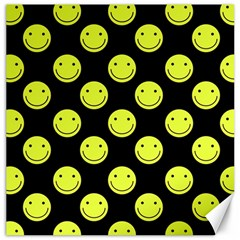 Happy Face Pattern Canvas 20  x 20