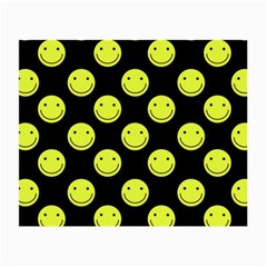 Happy Face Pattern Small Glasses Cloth (2-Side)
