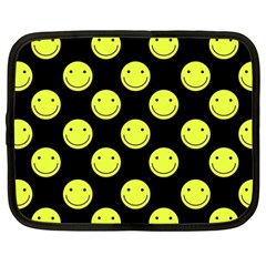 Happy Face Pattern Netbook Case (Large)