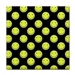 Happy Face Pattern Face Towel