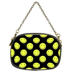 Happy Face Pattern Chain Purses (One Side)