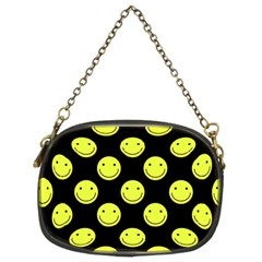 Happy Face Pattern Chain Purses (Two Sides)