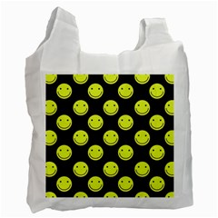 Happy Face Pattern Recycle Bag (One Side)