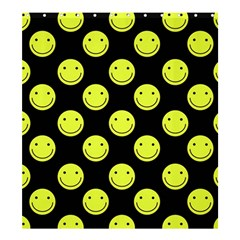 Happy Face Pattern Shower Curtain 66  x 72  (Large)