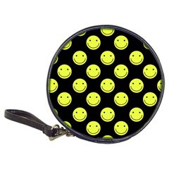 Happy Face Pattern Classic 20-CD Wallets