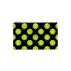 Happy Face Pattern Cosmetic Bag (Small)