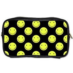 Happy Face Pattern Toiletries Bags