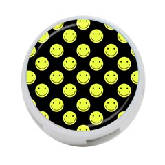 Happy Face Pattern 4-Port USB Hub (Two Sides)