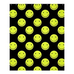 Happy Face Pattern Shower Curtain 60  x 72  (Medium)