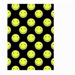 Happy Face Pattern Large Garden Flag (two Sides)