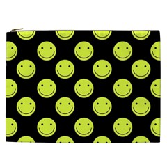 Happy Face Pattern Cosmetic Bag (xxl)