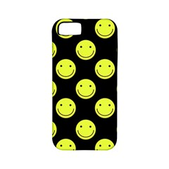 Happy Face Pattern Apple Iphone 5 Classic Hardshell Case (pc+silicone)