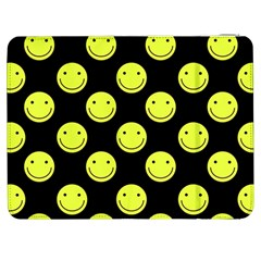 Happy Face Pattern Samsung Galaxy Tab 7  P1000 Flip Case